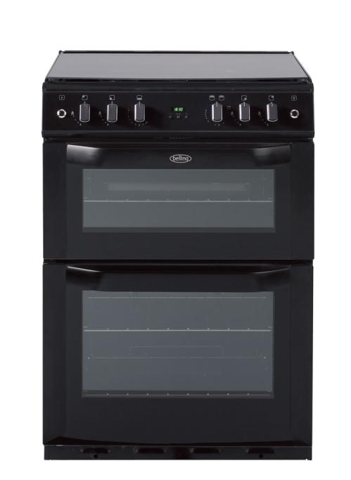Belling FSG60DOP 60cm gas double oven with programmable timer