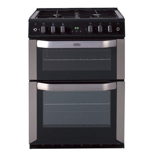 Belling FSE60DOP CEN 60cm electric double oven with programmable timer