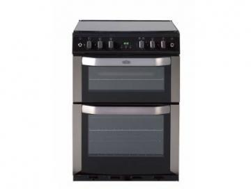 Belling FSG60DOP CEN 60cm gas double oven with programmable timer