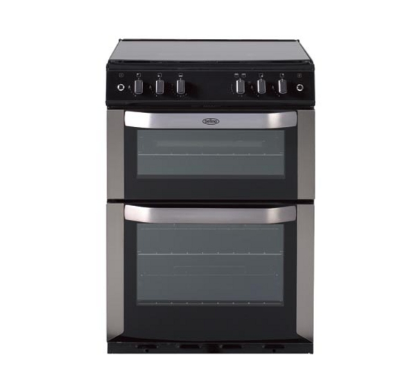 Belling FSDF60DO CEN 60cm dual fuel double oven