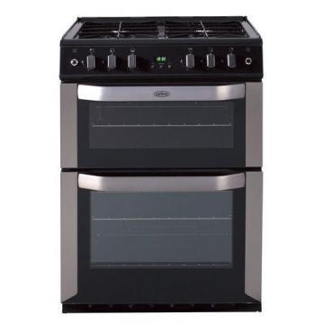 Belling FSE60DOPi CEN 60cm freestanding electric fanned double oven with inducti