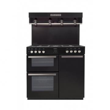 Belling Cookcentre 90DFT 90cm dual fuel range cooker