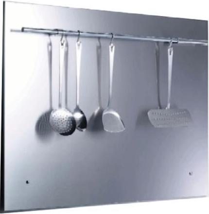 Belling SBK60R 60cm splashback with rail