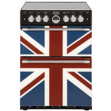 Stoves Sterling 600G Union Jack Colour 600mm wide gas mini range cooker