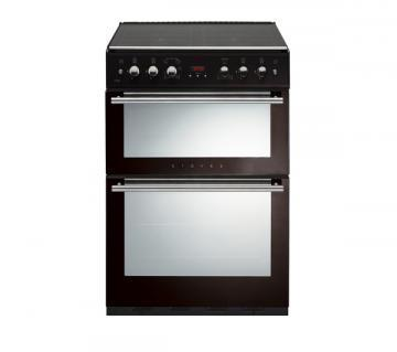 Stoves 61GDOT 600mm wide Gas Double Oven Cooker with Four Burner Hob