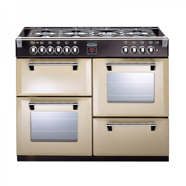 Stoves Richmond 1000DFT 1000mm dual fuel range cooker