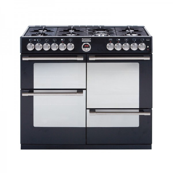 Stoves Sterling 1000DFT 1000mm dual fuel range cooker