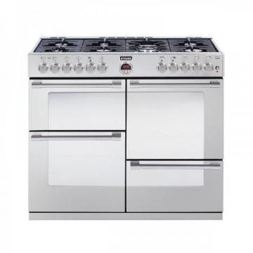 Stoves Sterling 1100DFT 1100mm dual fuel range cooker