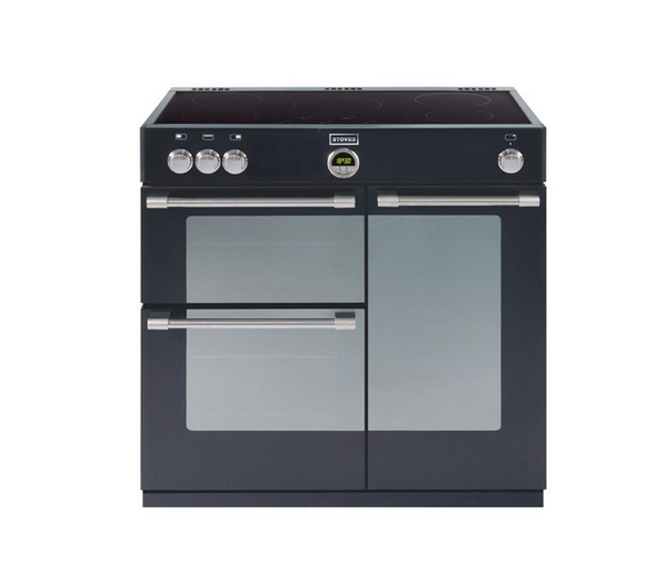 Stoves Sterling 900Ei 900mm wide Sterling electric induction range cooker