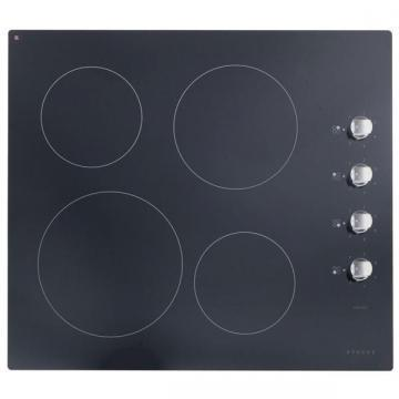 Stoves Sterling CR600 600mm electric ceramic hob with rotary controls