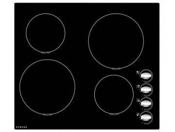 Stoves SEH600iR 600mm Electric Ceramic Induction Hob with Rotary Controls