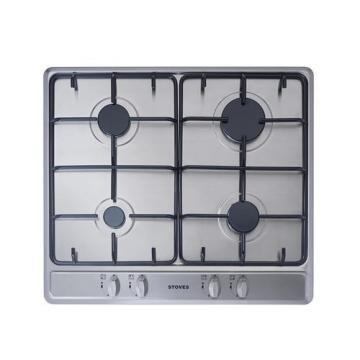Stoves SGH600E 600mm Gas Hob with Enamel Pan Supports