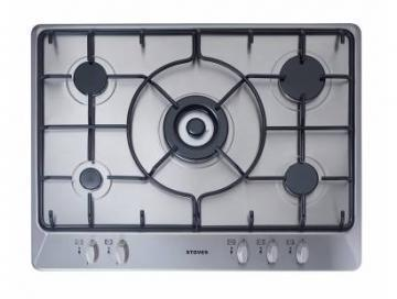 Stoves SGH700E 700mm Gas Hob with Enamel Pan Supports