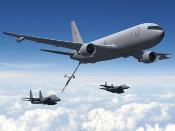 Boeing KC-46 military tanker aircraft