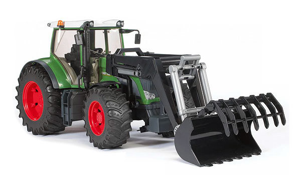 Bruder Fendtt 936 Vario with frontloader toy