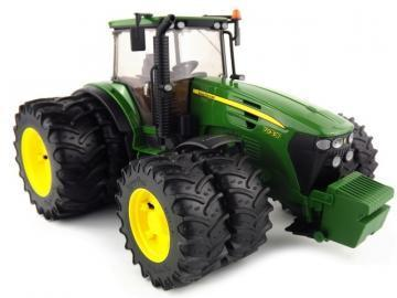 Bruder John Deere 7930 with twin tyres toy