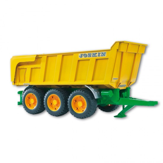 Bruder Joskin tipping trailer toy