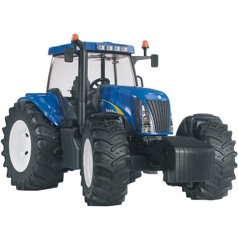 Bruder New Holland T8040 toy