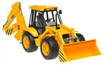 Bruder JCB 4CX Backhoe loader toy