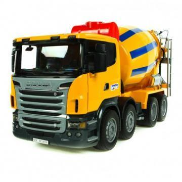 Bruder SCANIA R-series Cement mixer truck toy