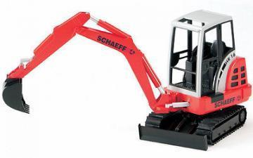 Bruder Schaeff HR16 Mini excavator toy