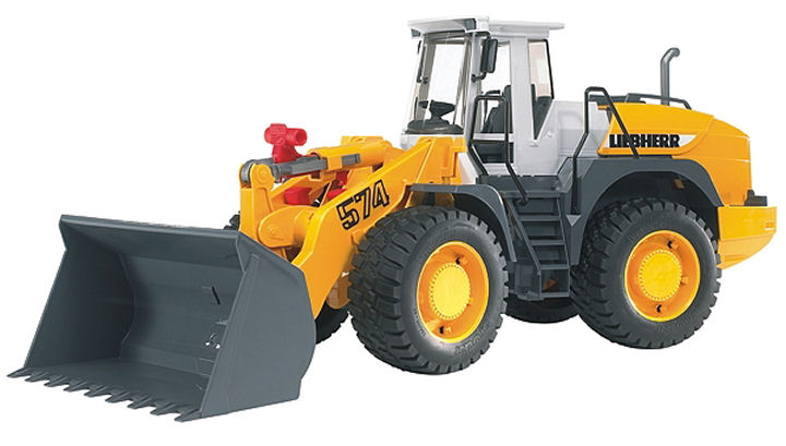 Bruder Liebher Ariculated road loader L574 toy