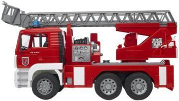 Bruder MAN Fire engine with selwing ladder toy