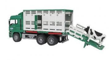 Bruder MAN Cattle transportation truck toy
