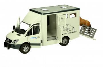 Bruder Mercedes Benz Sprinter animal transporter toy
