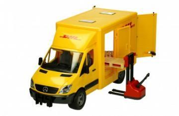Bruder Mercedes Benz Sprinter DHL toy