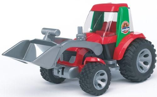 Bruder Tractor with frontloader toy