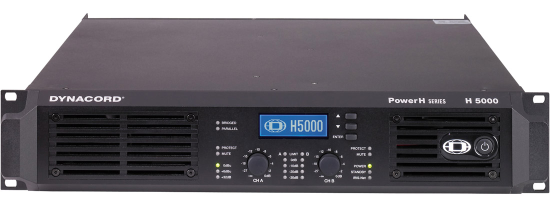 DYNACORD PowerH 5000 power amplifier