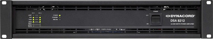 DYNACORD DSA 8212 power amplifier