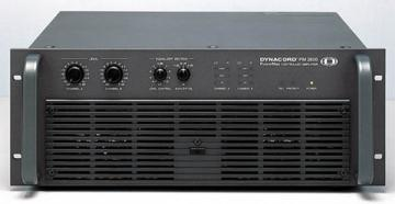 DYNACORD PM2600 controller power amplifier