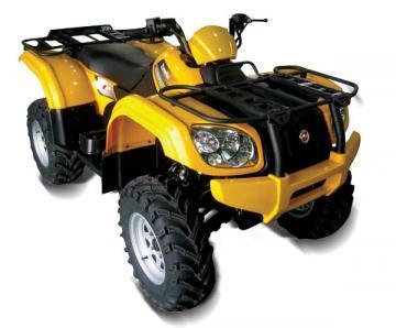 Zanella Gforce 500 ATV vehicle