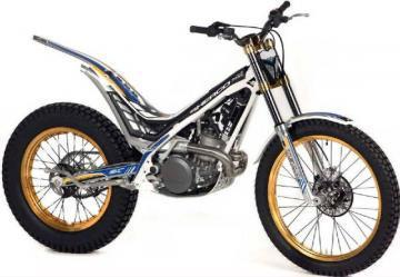 Sherco ST 2 STROKES 125 trials motorcycle