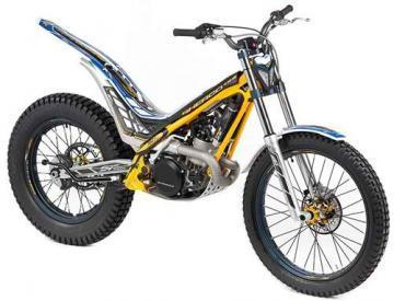 Sherco ST 2 STROKES 250 trials motorcycle