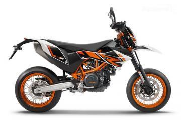 KTM 690 SMC R motorcycle