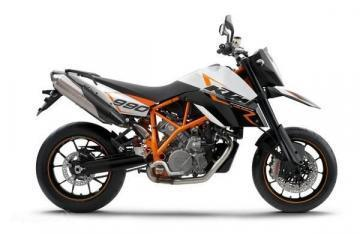 KTM 990 Supermoto R motorcycle