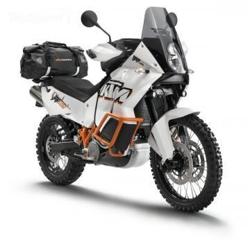 KTM 990 Adventure motorcycle