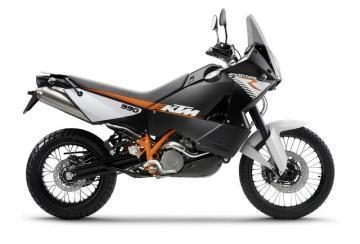 KTM 990 Adventure R motorcycle
