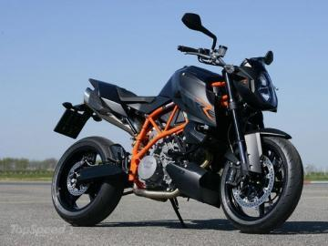 KTM 990 Super Duke R motorcycle