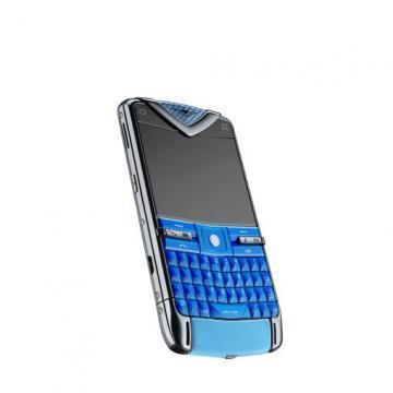 Vertu Constellation Blue luxury smartphone