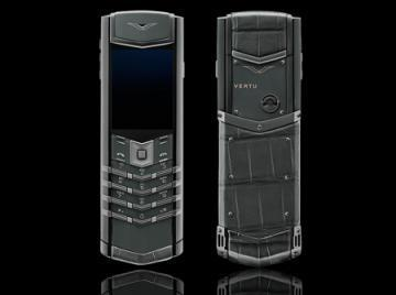 Vertu Signature Zirconium luxury mobile phone