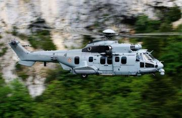 Helibras AS 532 AL Cougar military helicopter