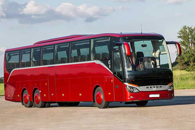 Setra ComfortClass 500 S 515 HD coach bus