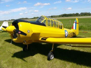 Blue Yonder EZ Harvard single-seat aircraft