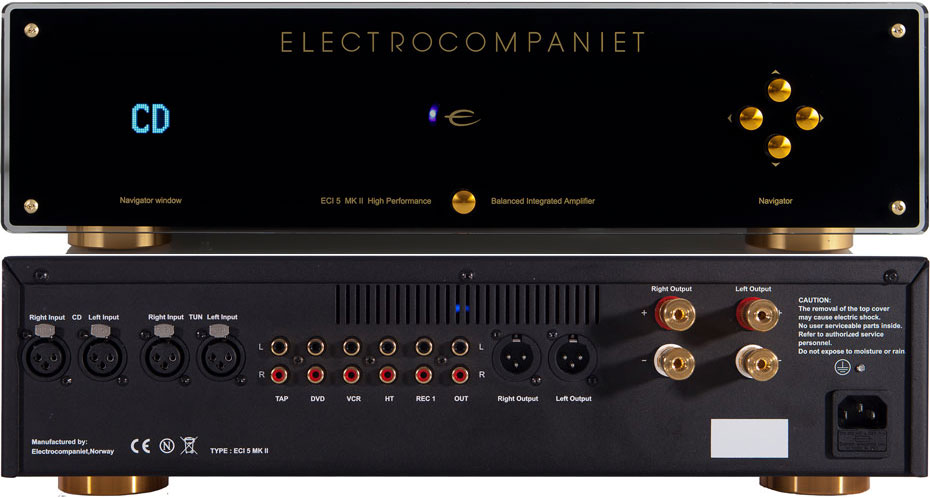 Electrocompaniet ECI 5 integrated stereo amplifier