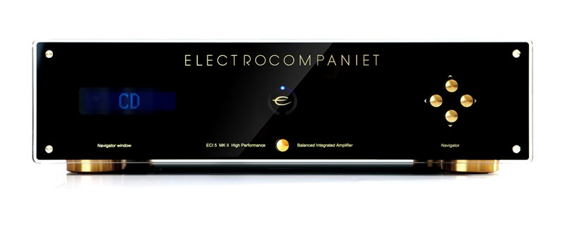 Electrocompaniet ECI 5 Mk II integrated stereo amplifier