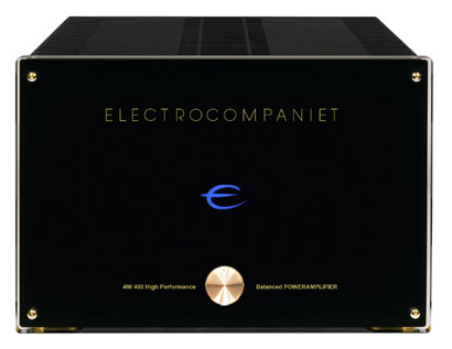 Electrocompaniet AW400 power amplifier